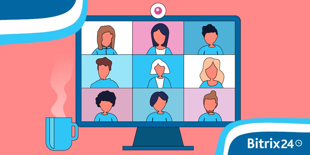 Bitrix24團隊協作:如何在帳戶中建立會議