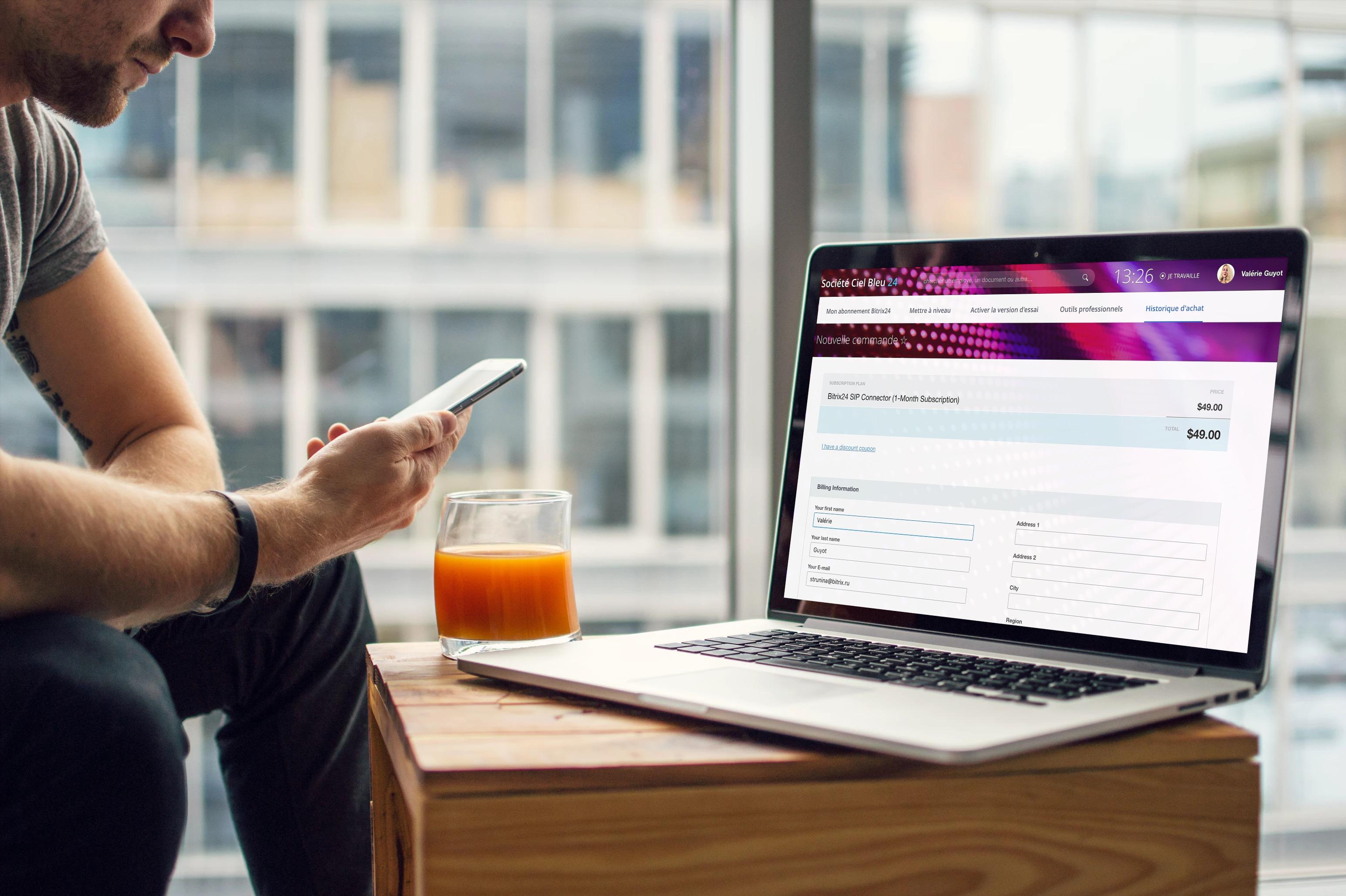 Connecter la téléphonie SIP à la Sales Intelligence