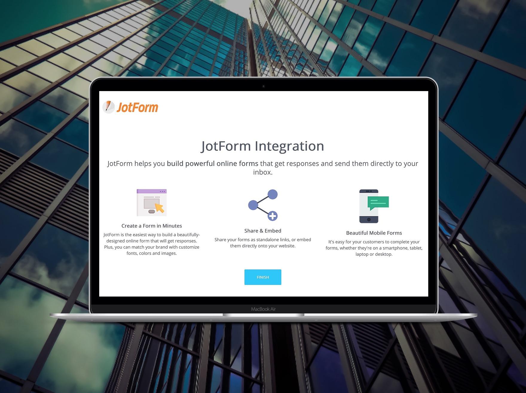 La integración de Bitrix24 con JotForm (+ Slack)