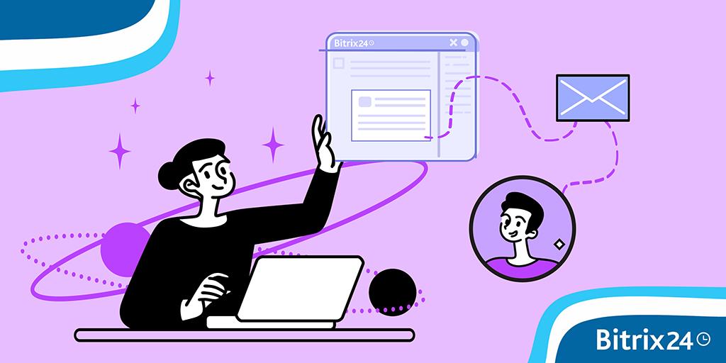 Correspondência do cliente: como criar um formulário personalizado no Bitrix24