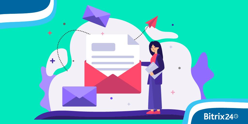 Bitrix24 Webmail in neuen Farben!