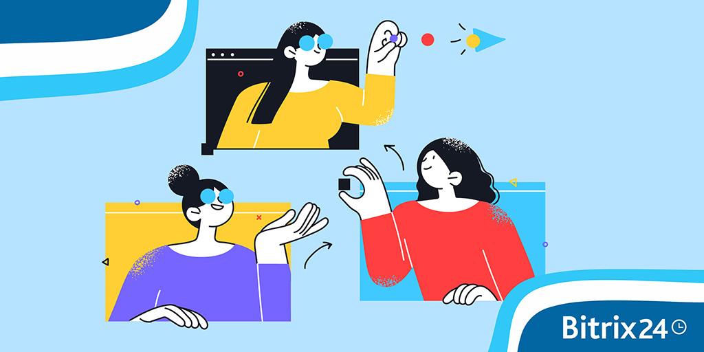 Bitrix24视频通话和视频会议简介