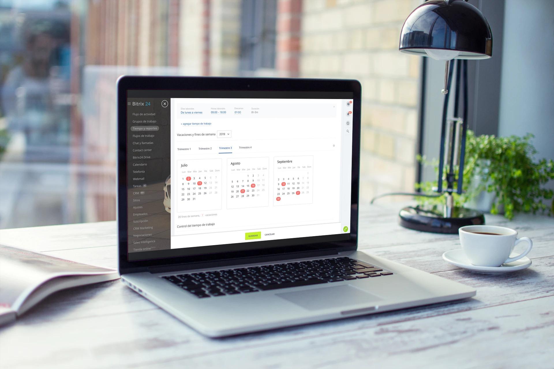 ¡NUEVO! Horario Personalizado & Tiempo de Trabajo 2.0 en Bitrix24