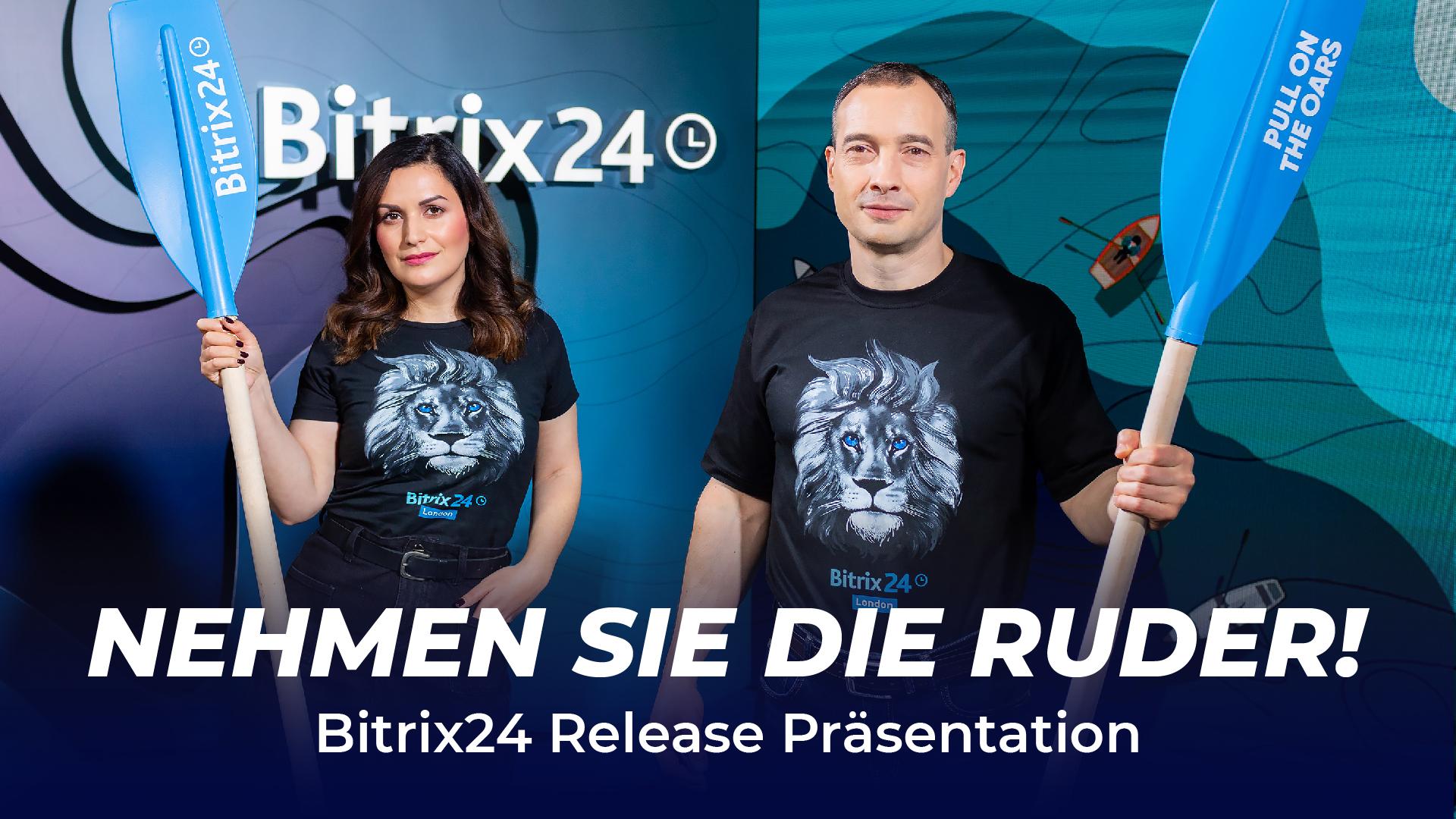 Bitrix24 Release Präsentation: Jetzt verfügbar!