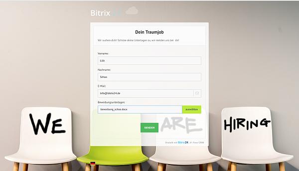 Moderne Online-Formulare mit Bitrix24 erstellen!