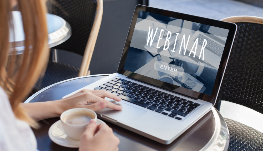 Regular weekly webinars