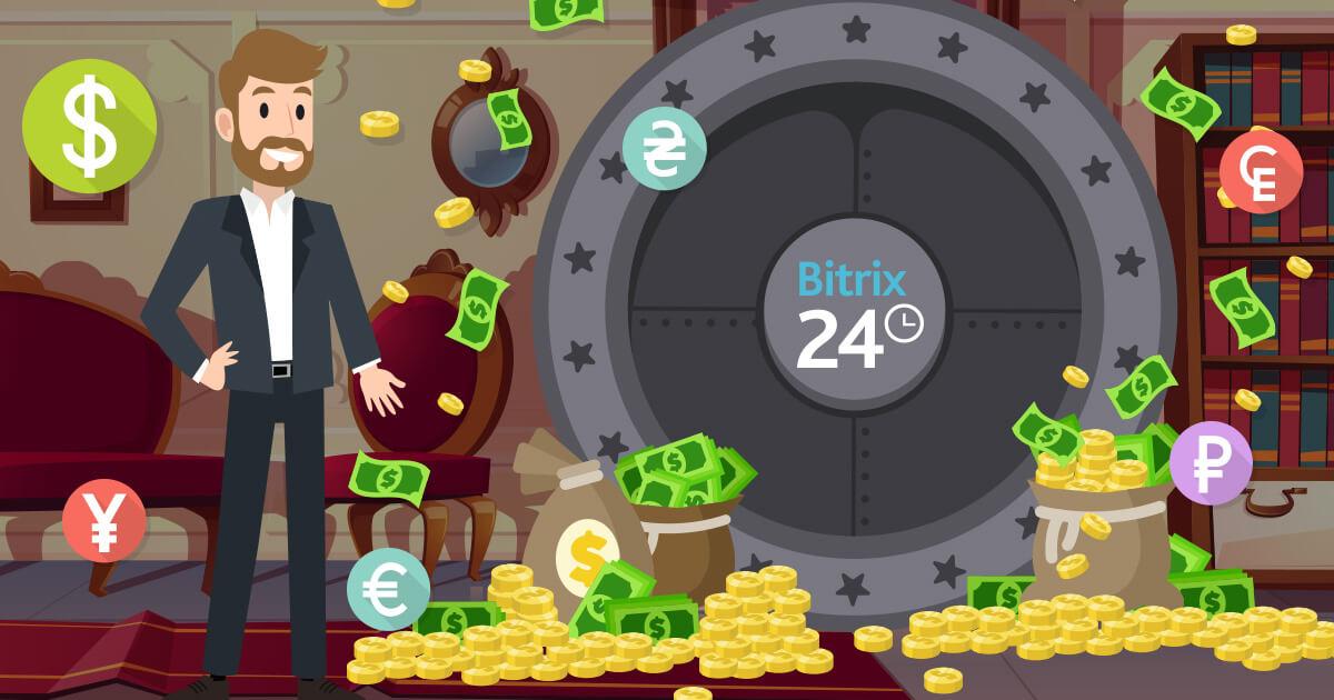 Više valuta u Bitrix24 CRM