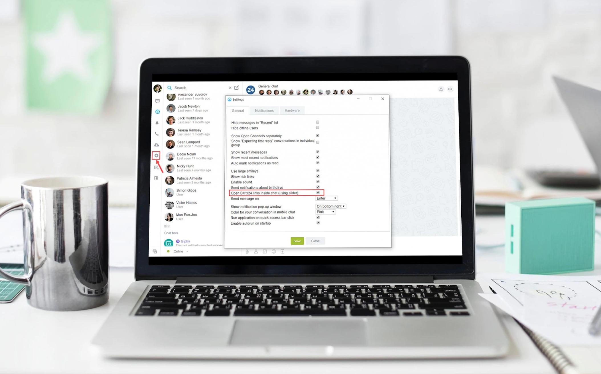 Bitrix24 Desktop app update