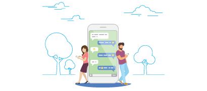 連結Apple Business Chat