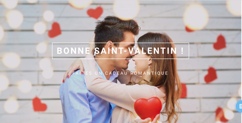 Modèles pour le jour de la Saint-Valentin