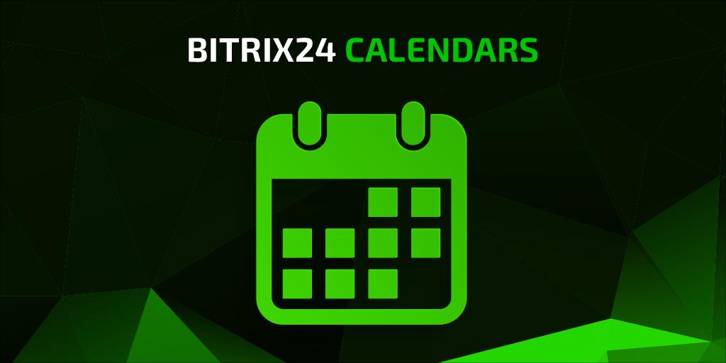Lịch Bitrix24 Phiên Bản Mới