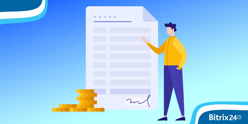 Modelos de orçamentos e faturas