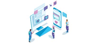 Überall arbeiten: In der mobilen App und Desktop-Anwendung einloggen