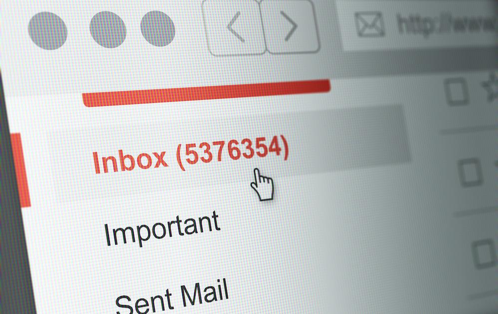 Thông báo quan trọng về đồng bộ hóa email