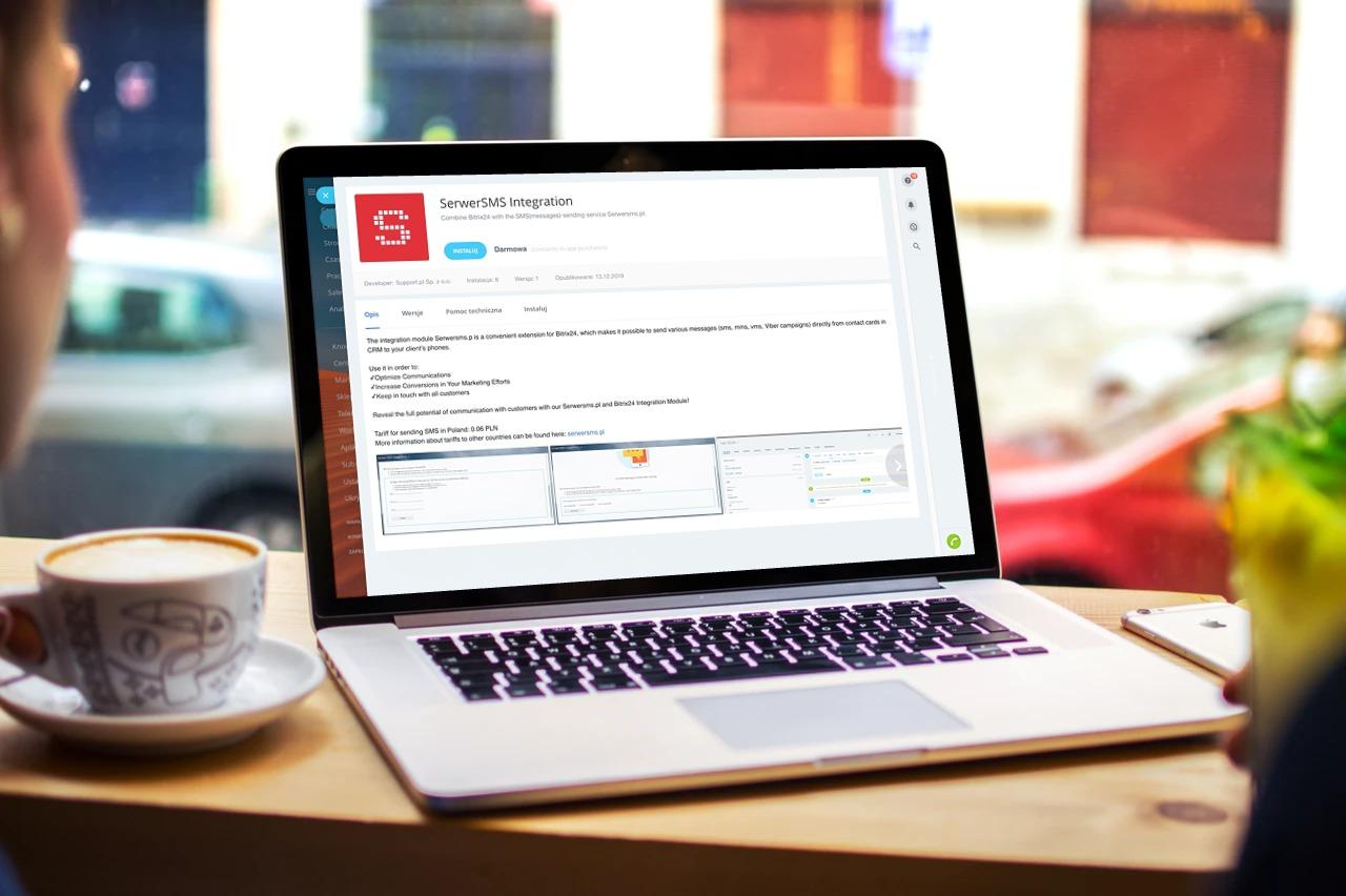 Zintegruj swój Bitrix24 z SerwerSMS.pl