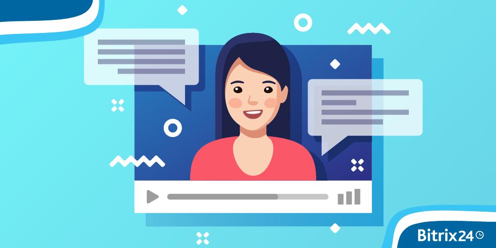 Bitrix24アプリでビデオ通話を録画する方法