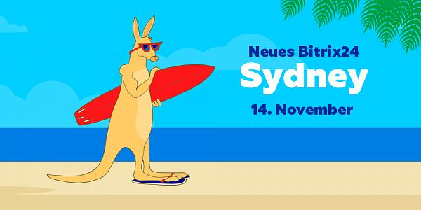 Bitrix24 Release Präsentation Sydney 2018