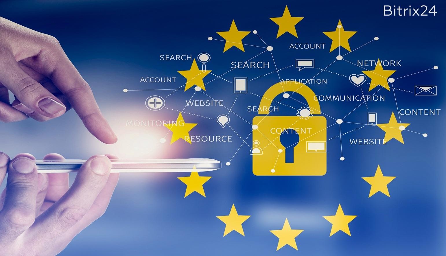 Importante: GDPR para usuarios de Bitrix24 de la Unión Europea