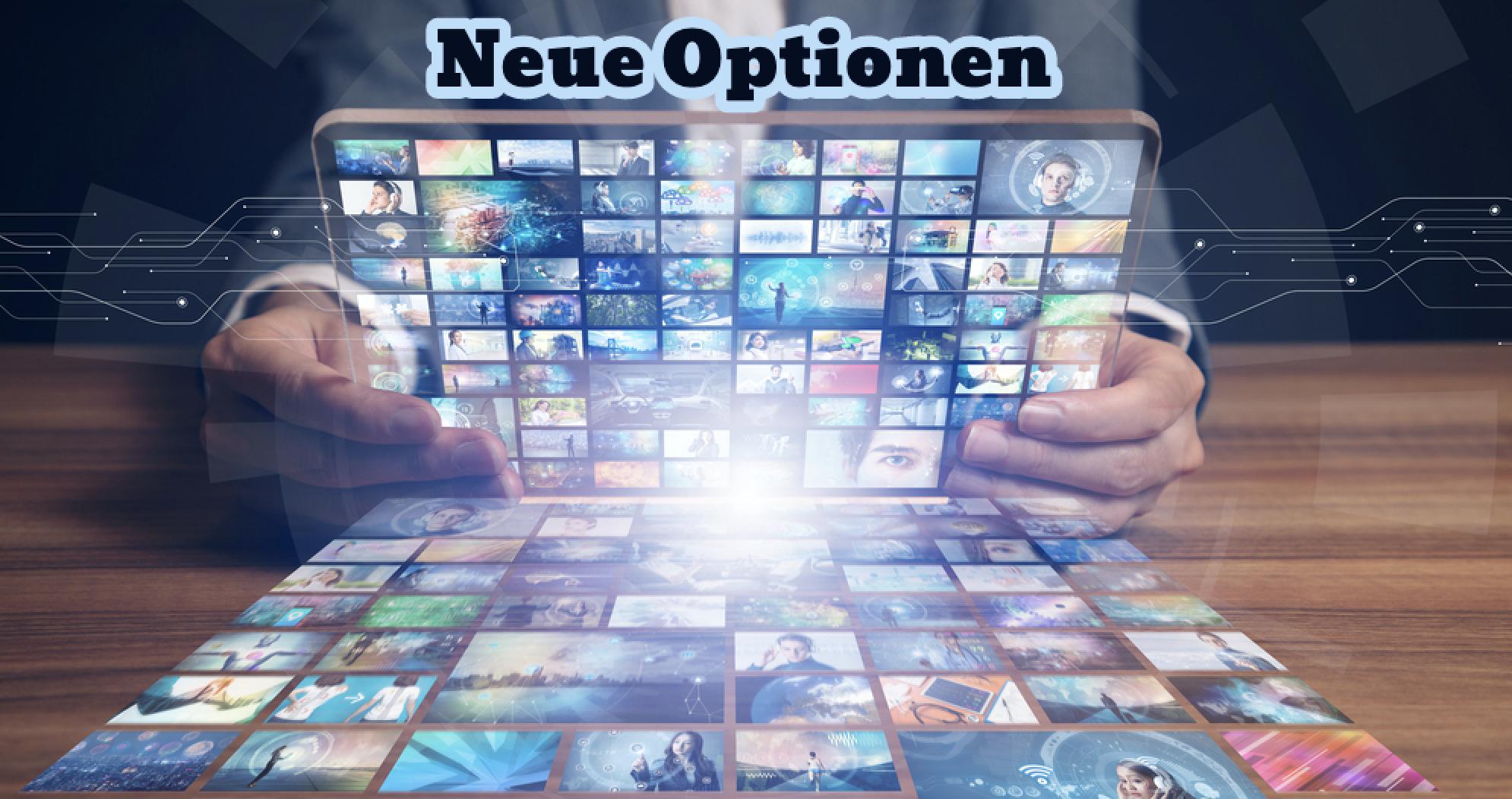 NEU! Erweiterte Optionen in Kommunikationskanälen