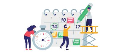 Emploi du temps dans Bitrix24