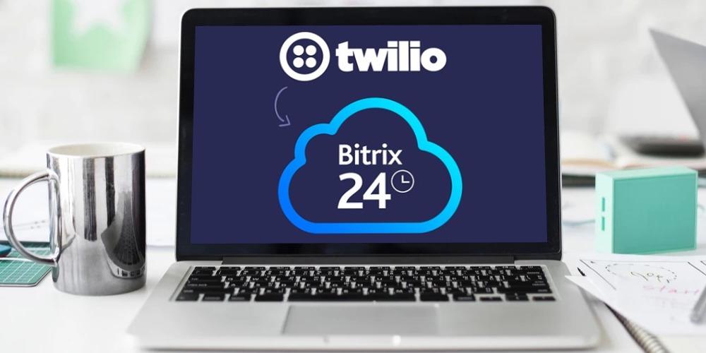 Bitrix24内で受信したSMSは、TwilioのSMS経由でCRMでも受信できます
