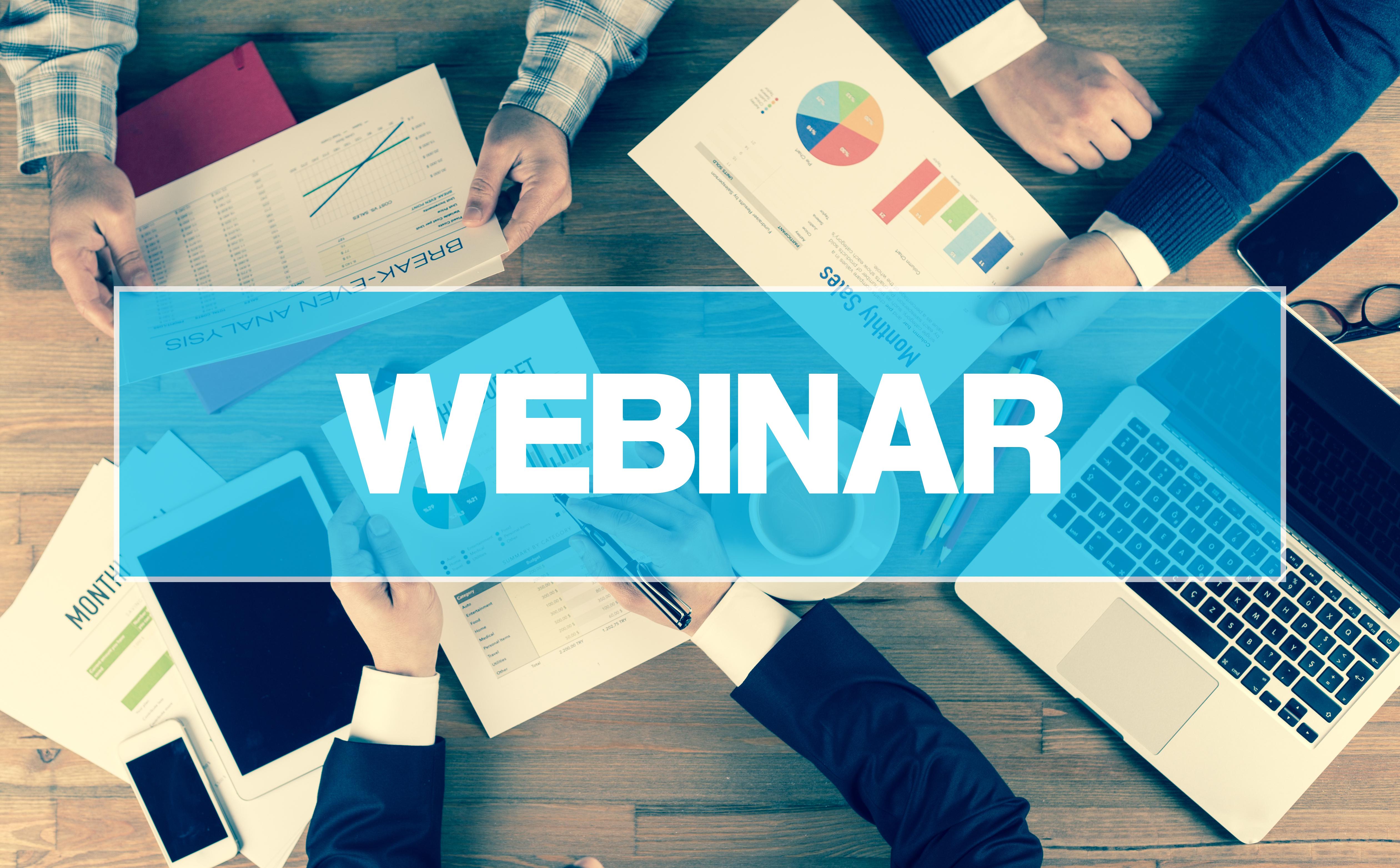 """Webinar gratuito: """"Comunicação e Colaboração - Aumentando o desempenho operacional com tarefas e projetos"""""""