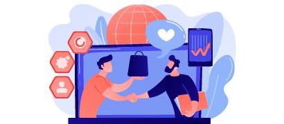 合并联络人和公司