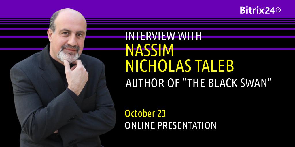 Dr. Nassim Nicholas Taleb – special guest della nostra presentazione online