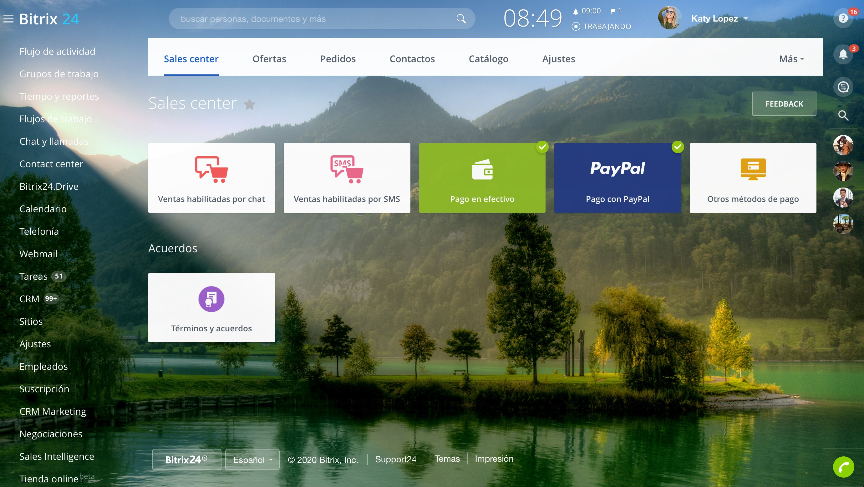 Sales Center - Conectar PayPal
