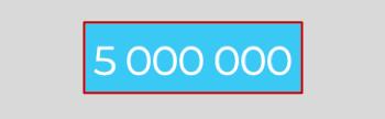5 000 000 регистраций. Спасибо всем!