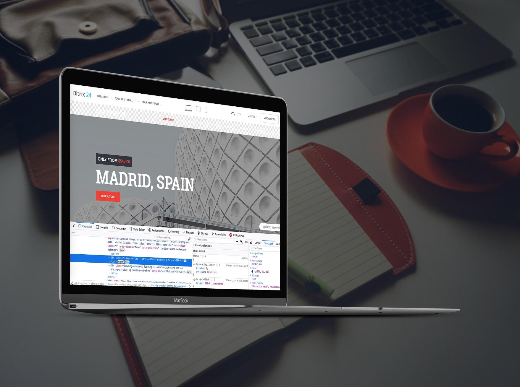 Cómo agregar CSS personalizado a su sitio Bitrix24 o tienda online