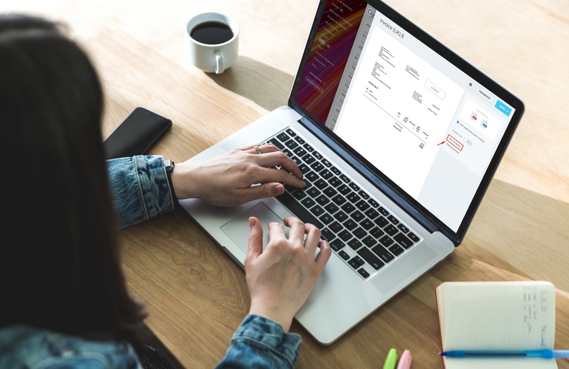 Maneiras fáceis de modificar formatos de data e endereço em modelos de documentos
