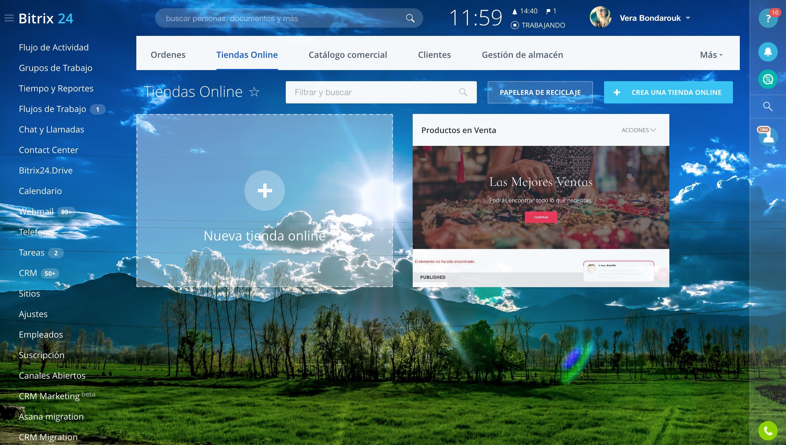 Tiendas Online (Beta)