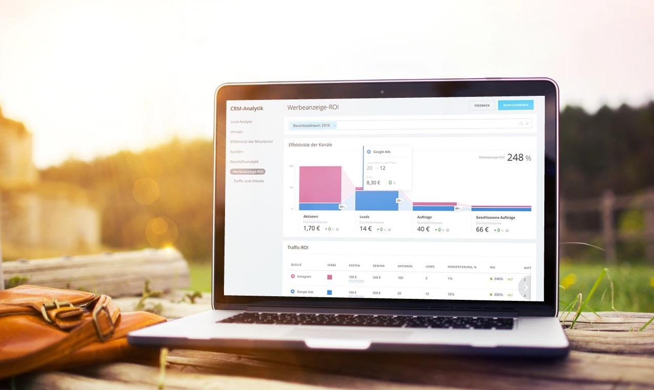 Bitrix24 CRM-Analytik und die Arten von Sales Funnels