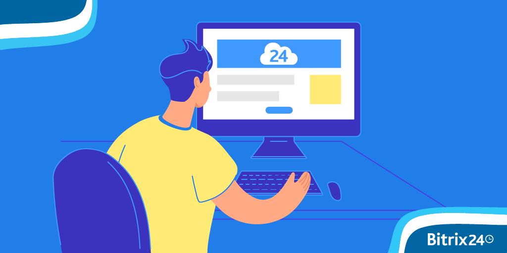 登錄Bitrix24桌面和行動應用程式