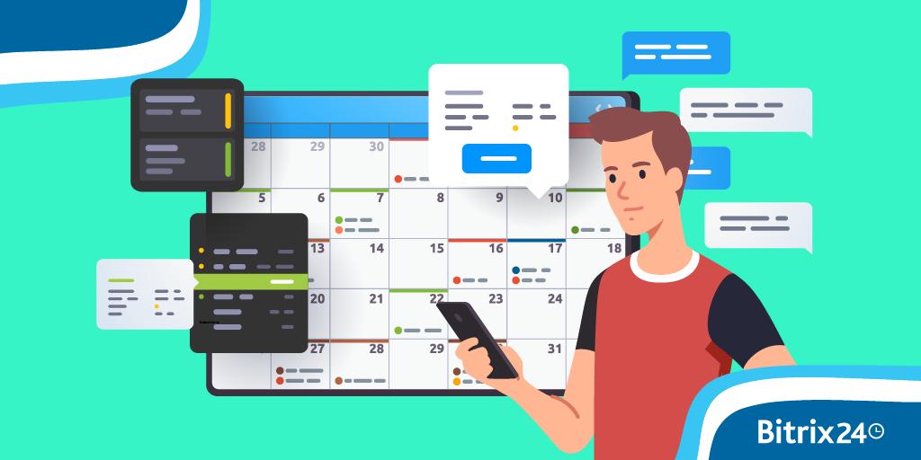 如何將Bitrix24行事曆與Android設備同步