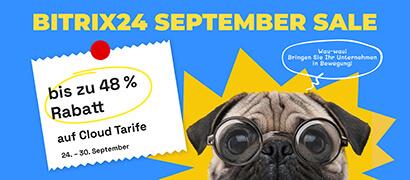 Aktuelles zu unserem September Sale