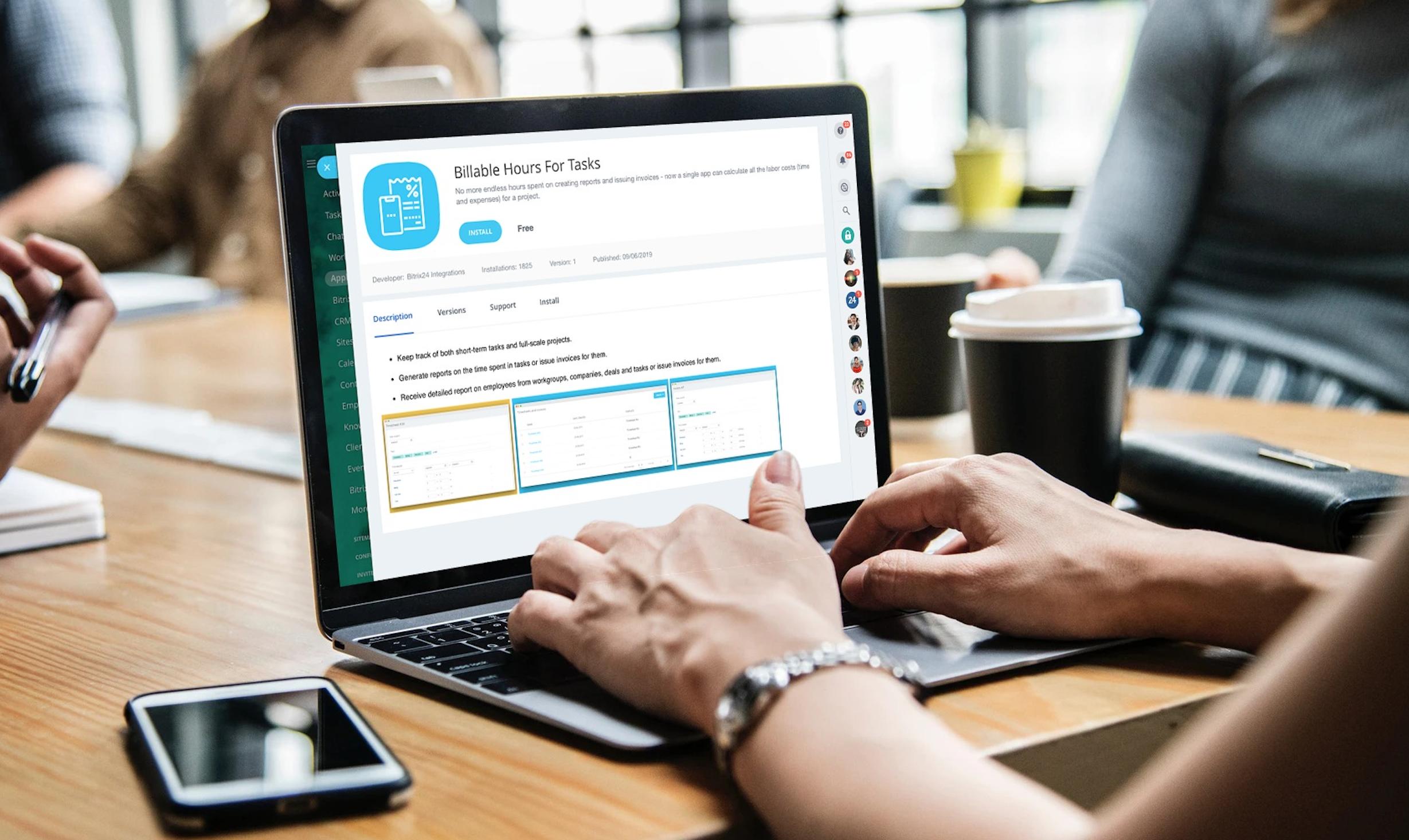 Bitrix24 integration with Billable Hours For Tasks