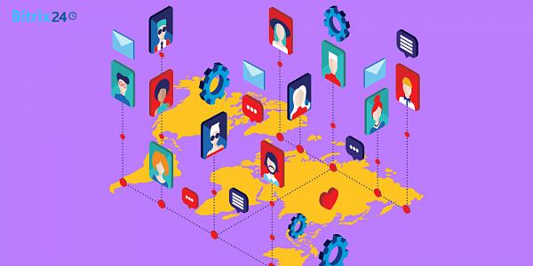 Moderne Kundenkommunikation mit Bitrix24