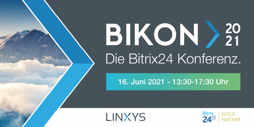 BIKON 2021 by LINXYS: Die Bitrix24 Konferenz startet bald!
