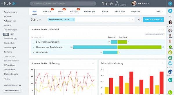 NEU in Bitrix24: Start CRM