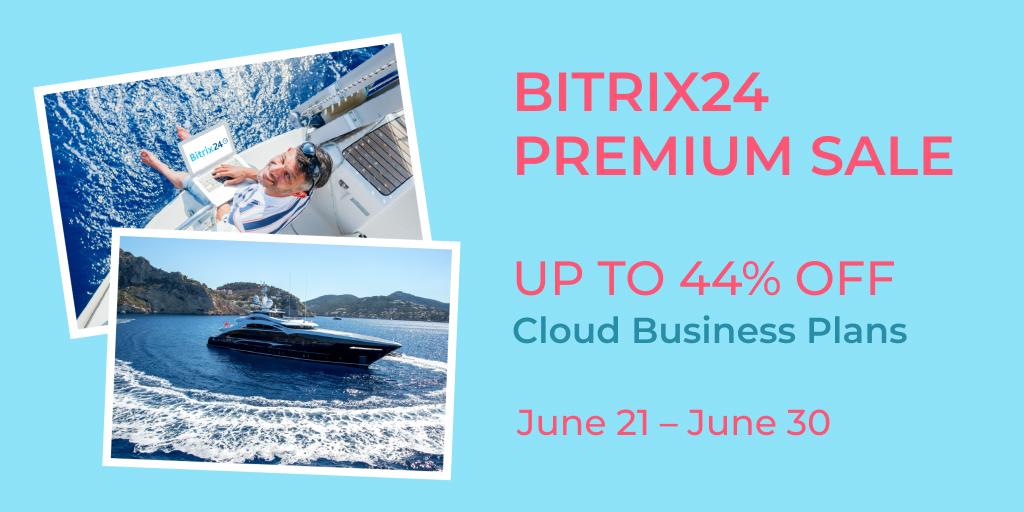 Bitrix24 Premium-Angebot