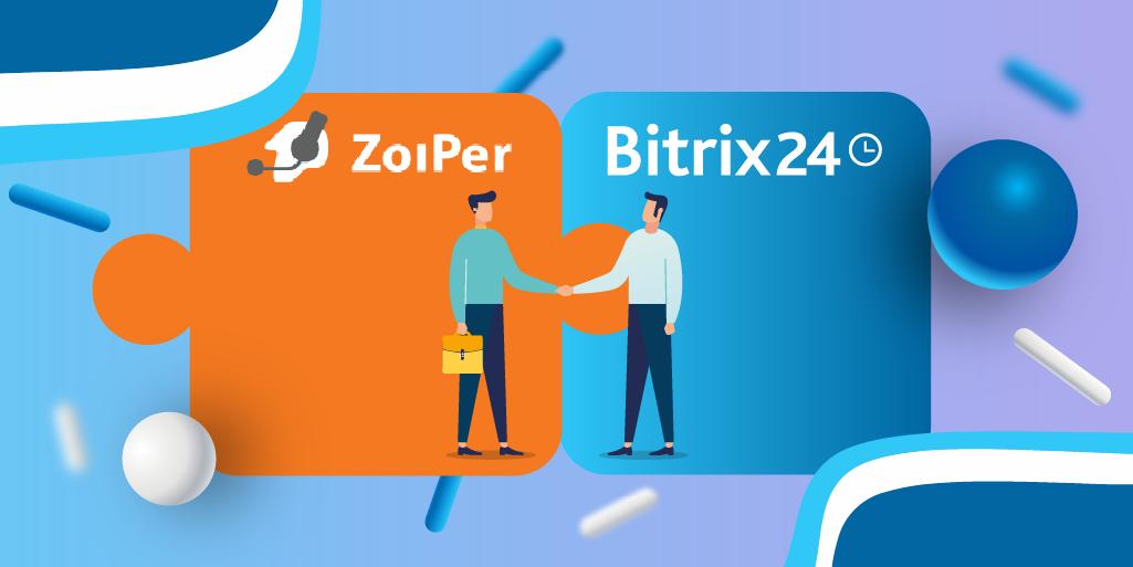NEU in Bitrix24 Telefonie! Zoiper Anwendung