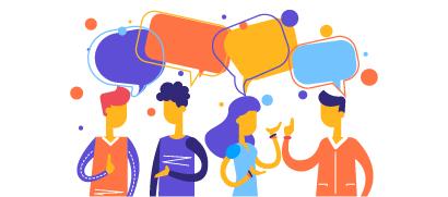 Trabajar con clientes y socios en una oficina virtual personalizada