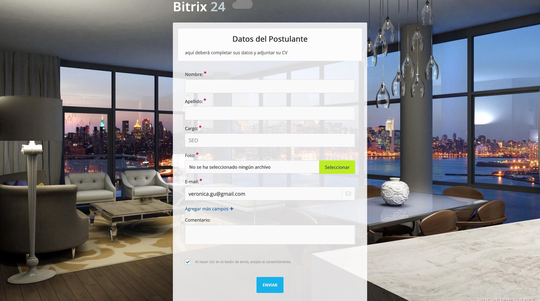 Nuevos prospectos y clientes potenciales con los Canales Abiertos en Bitrix24