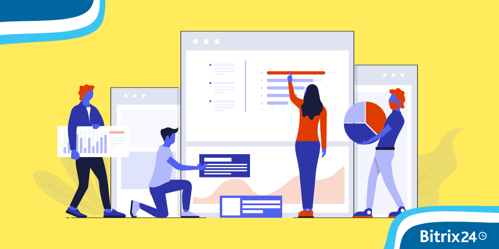 Modificare il design di siti e store Bitrix24