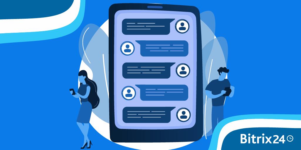 Bitrix24 CRM Kontakte mit anderen Apps synchronisieren