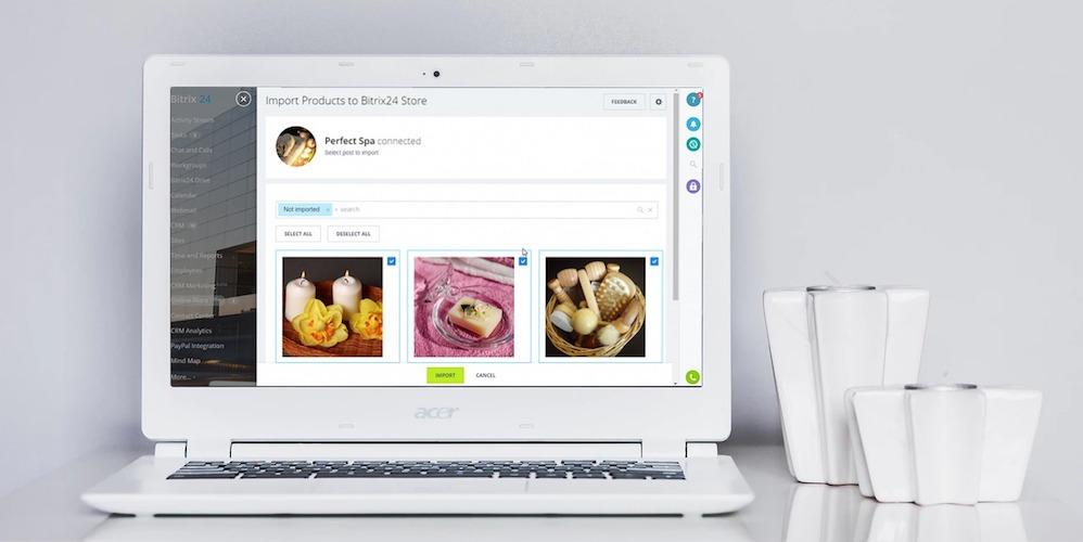 インスタグラムで販売をするには?インスタグラムに載せている製品をBitrix24のオンラインショップへインポートしましょう!