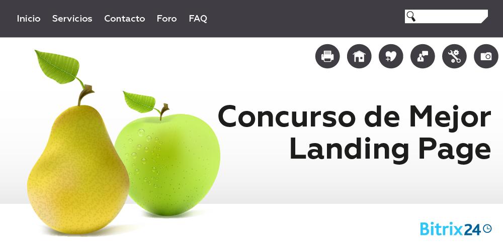 Concurso de Mejor Landing Page