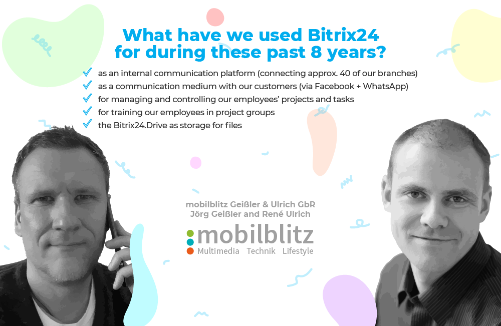Bitrix24 Birthday Sale: 8-Year Subscription Winners